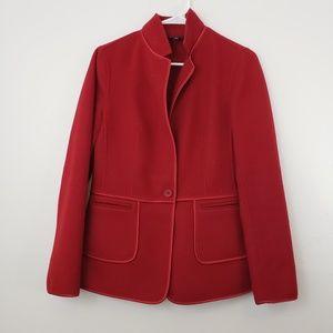 Talbots Sz 10 Wool Blend Blazer Jacket